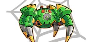 スパイダーロボット イメージ