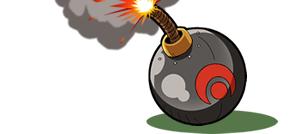 爆弾イメージ