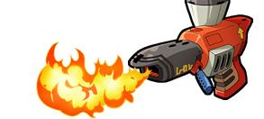 火炎放射器イメージ