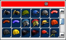 頭選択画面イメージ