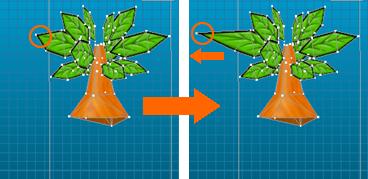 3Dモデル変形イメージ