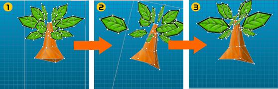 3Dモデル分解イメージ